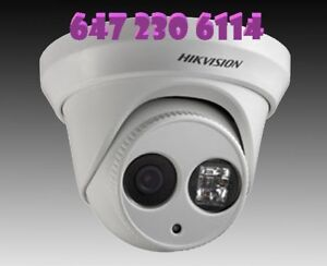 security camera and alarm system