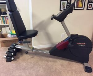 Pro form cross trainer 970 exercise bike