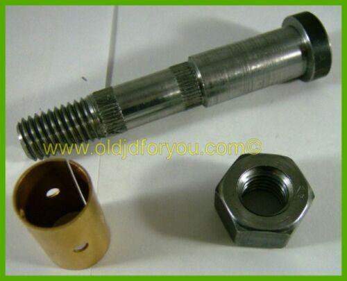 D2031R * John Deere A D G 60 720 Clutch Handle Bolt Kit * Includes Nut & Bushing