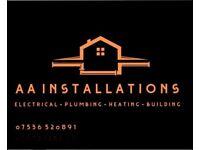 AA plumbing & electrics 07536520891
