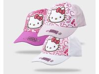 BNWT Hello Kitty Girls Cotton Baseball Cap