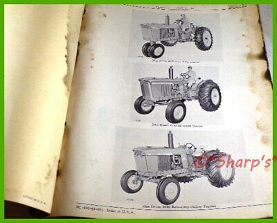 John Deere 3010 Parts Catalog Pc690 Genuine Original 1965 Version Dealership