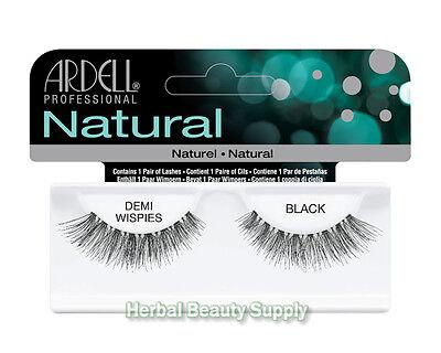 #65012 Invisibands Ardell Demi Wispies Black False Fake Eyelashes