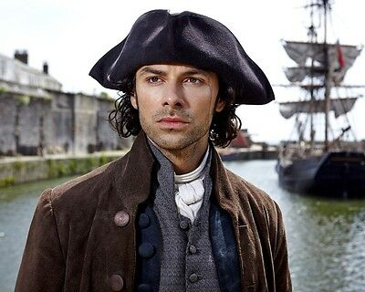 Poldark Aidan Turner Great Boat Scene 10x8 Photo