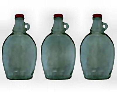 Tap My Trees Syrup Bottles - Set Of 3 Empty 12 Oz Bottles