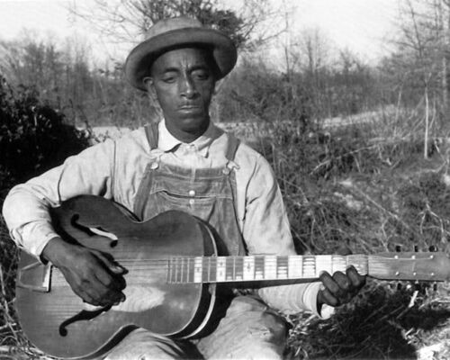 Country Blues Singer FRED MCDOWELL Glossy 8x10 Photo Mississippi Print Poster