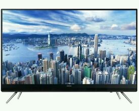 """New boxed samsung 49"""" LED tv built in usb player HD freeview. UE49K5100."""
