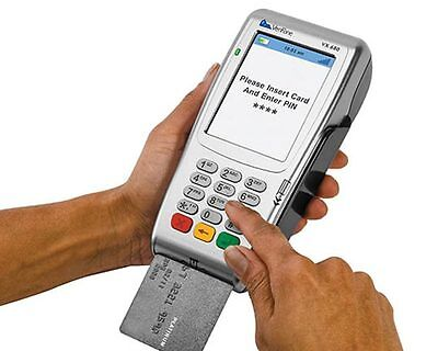 Free Wireless Verifone Vx680 Emv Credit Card Terminal - No Contracts - 0.50