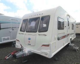 2011 Bailey Unicorn Valencia/4 berth touring caravan