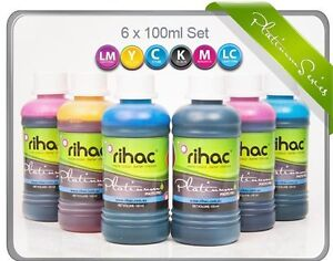 RIHAC Refill ink for CISS suits Epson 81 82N Cartridge T0811-T0816 T0821-T0826