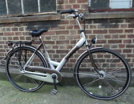 THIS IS SPARTA ! Ladies Dutch bike - SHIMANO NEXUS 3 speed, size 19in - Welcome for test ride !!