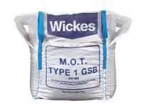 Wickes Granular Sub Base Mot 1 Jumbo Bag x 2