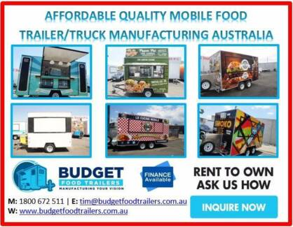 FOOD TRAILERS FROM $9,900 UP TO FULL KITCHEN FITOUTS TOWNSVILLE