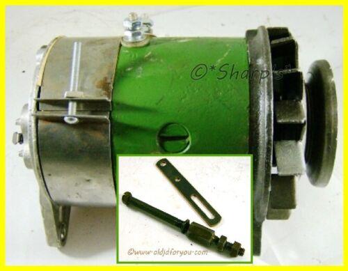 1101859* John Deere 40 420 430 320 330 Rebuilt Generator with Pulley & Hardware!