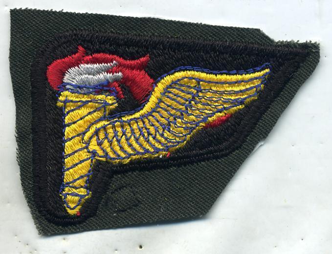 Vietnam Era US Army Airborne Pathfinder Color Patch Uncut