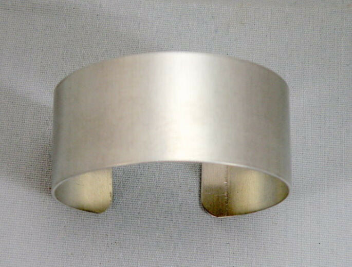 "Aluminum Cuff Bracelet Blanks, 1"" x 6"", one dozen"