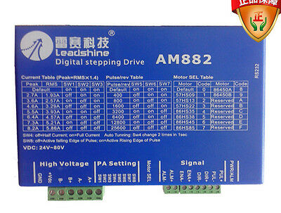 Leadshine Dc 80v 8.2a Am882 Digital Stepper Drive With Protection Function