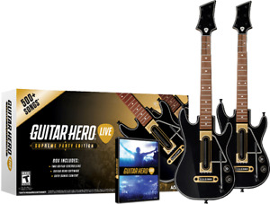 Guitar hero live for ps4 two guitars + game