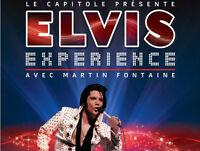 6 excellents billets-terrasse pour Elvis Expérience à Québec
