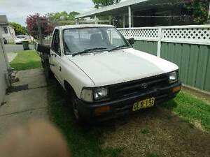 1994 Toyota Hilux work ute Waratah West Newcastle Area Preview
