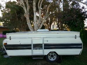 Caravan Pop Top Caravan Good For Parts Or Restore Make A Trailer Browns Plains Logan Area Preview