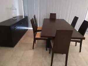 Dinning table set - 6 chairs and table in excellent condition Revesby Bankstown Area Preview