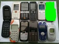 Retro Phones Nokia, LG, Sony, Motorola etc JOB LOT