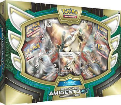 Pokemon - 1x Schillerndes Amigento GX Box - Deutsch