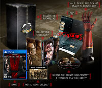 Metal Gear Solid V: The Phantom Pain collectors edition PS4