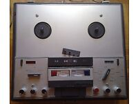 Uher Royal 784- 4 track 4 speed stereo reel to reel recorder, recently serviced by Uher, Germany