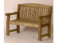 Wooden garden bench.highest quality
