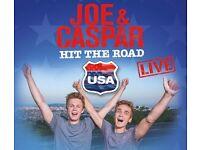 Joe And Caspar Hit The Road USA TOUR