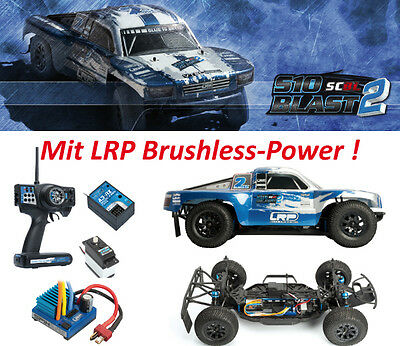 LRP 120703 S10 Blast SC 2 Brushless RTR 2.4GHz - 1/10 4WD SC ~mit Videoclip~