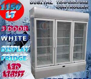 1150lt 3 door commercial display fridge - brand new! Frankston Frankston Area Preview