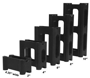 Powermadd 45535 Pivot Style Riser Block - 8in.