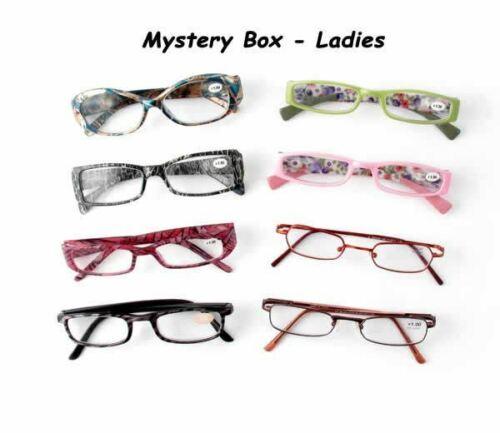 6 Pack Calabria Brand Random Assorted Box Reading Glasses, L