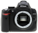 Nikon COOLPIX D5000 12.3 MP Digital SLR Camera - Black (Body Only)