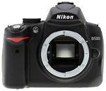 Nikon COOLPIX D5000 12.3 MP Digital SLR Camera - Black (Body Only)