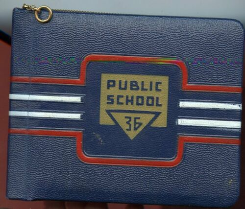 1949 Autograph Book - AUCH Family Bronx, New York - Public School 36 / orig box