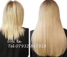 Tape Hair Extension, LA-Weave Hair, Russian Hair, Nano Rings Hair, Pre-bonded, Micro Ring Hair
