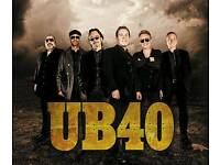 2x UB40 tickets at the Royal & Dergate