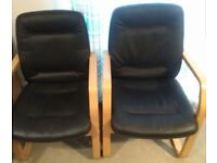 2 Office Chairs free to collector