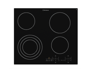 Westinghouse 60cm 4 Zone Ceramic Cooktop - Model: WHC644BA Mansfield Brisbane South East Preview