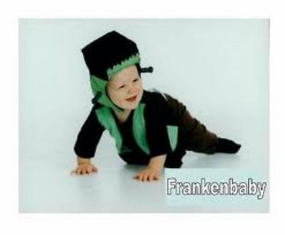 BABY FRANKENSTEIN Infant Halloween Costume - Size 0-6 Mo - 100% Cotton - NEW - Frankenstein Halloween Costume Baby