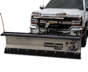 SNOWPLOW AND SPREADER SNOWDOGG