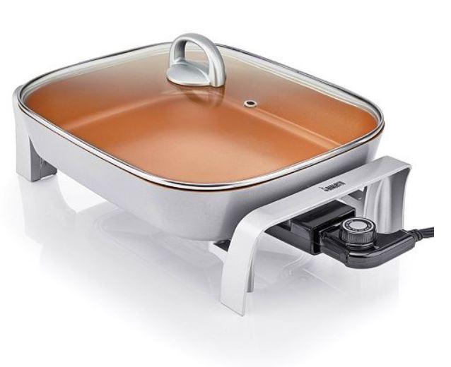 Bialetti Copper 5.5-qt. Titanium Ceramic Nonstick Electric S