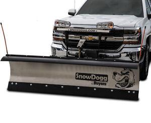SNOWPLOW AND SPREADER SNOWDOGG