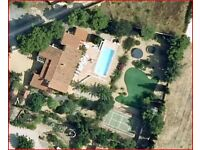 VILLA FOR SALE IN SPAIN with SEP.2.ROOM ANNEXE...IDEAL HOME AND INCOME POTENTIAL.10 MINS BEACH.SHOPS