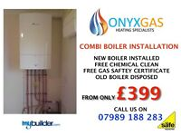 Boiler from only £399 / replacement / swap / repair/change Valliant, Worcester plumbing