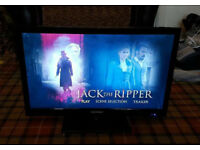 "24"" Blaupunkt LED TV. Built in DVD. 24/1471-GB-3B-FHBKDUP"